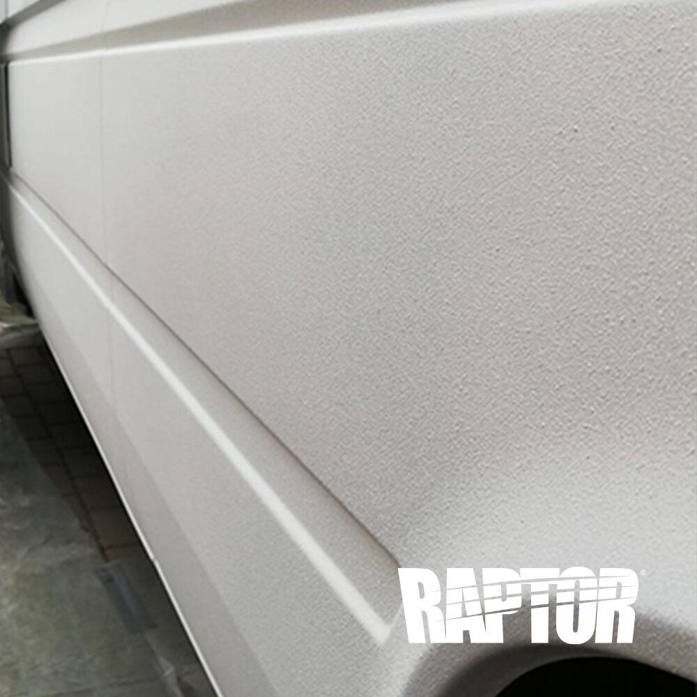 Adventure Truck U-POL Raptor Lack tönbar arktikweiss anwendung Mercedes W903 313CDI Sonderfahrzeug Rohrreinigungs Spülwagen Rohrdachs