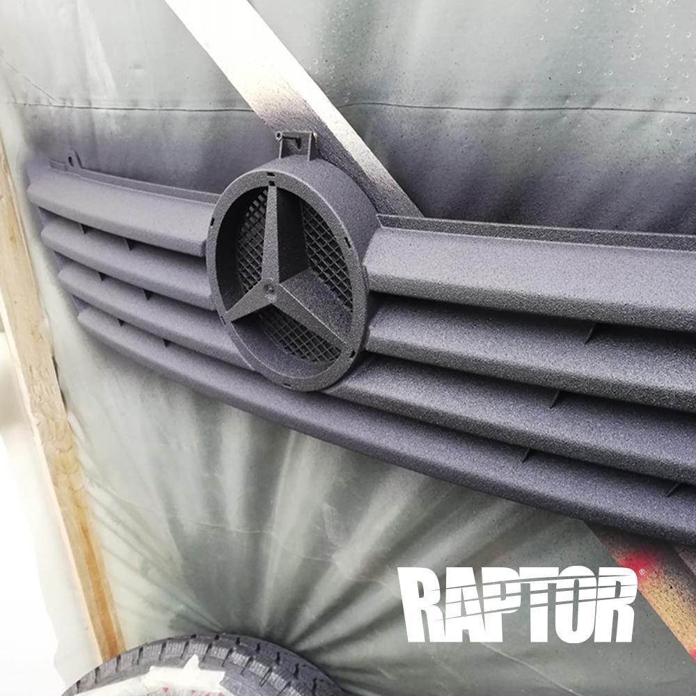 Mercedes Sprinter w903 313CDI Kühlergrill mit Raptor Lack schwarz