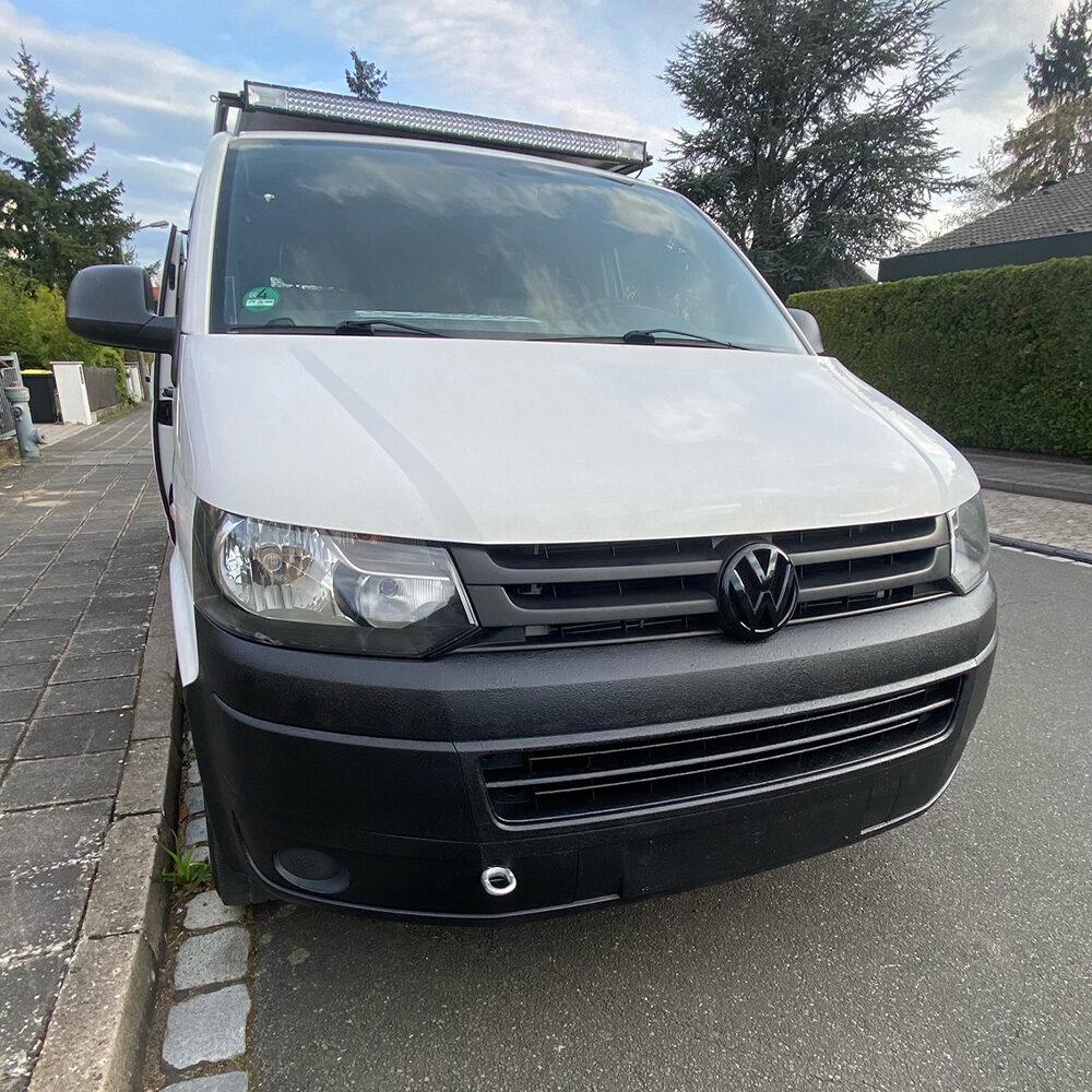 Raptor Lack diy fahrzeuglackierung Kundenbild Volkswagen VW T6 DIY Camper
