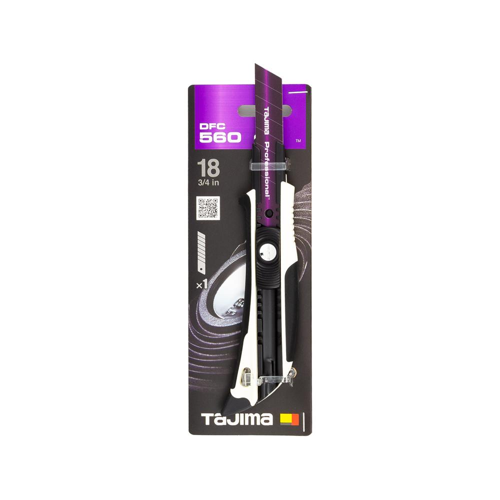 Tajima Allzweck-Cuttermessers schwarz weiß in Verpackung