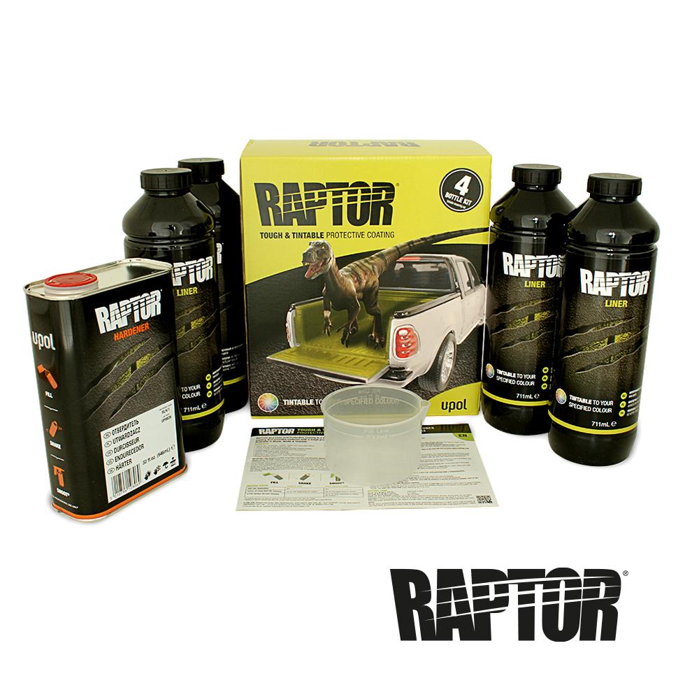 U-POL Raptor Lack Box inhalt einfärbbar