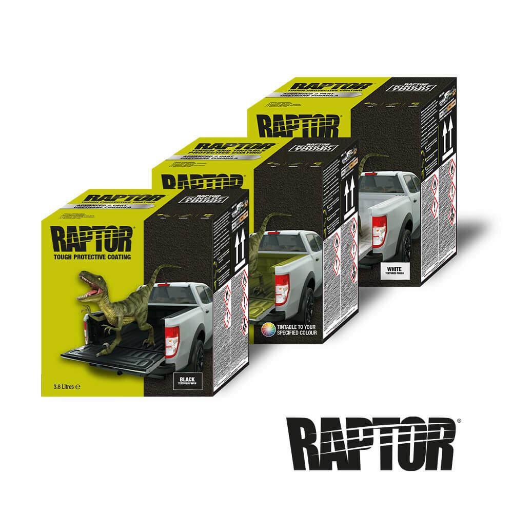 U-POL Raptor Lack schwarz/weiß/tönbar