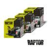 U-POL Raptor Nutzfahrzeug-beschichtung Sets Schwarz weiß einfärbbar Kartonage
