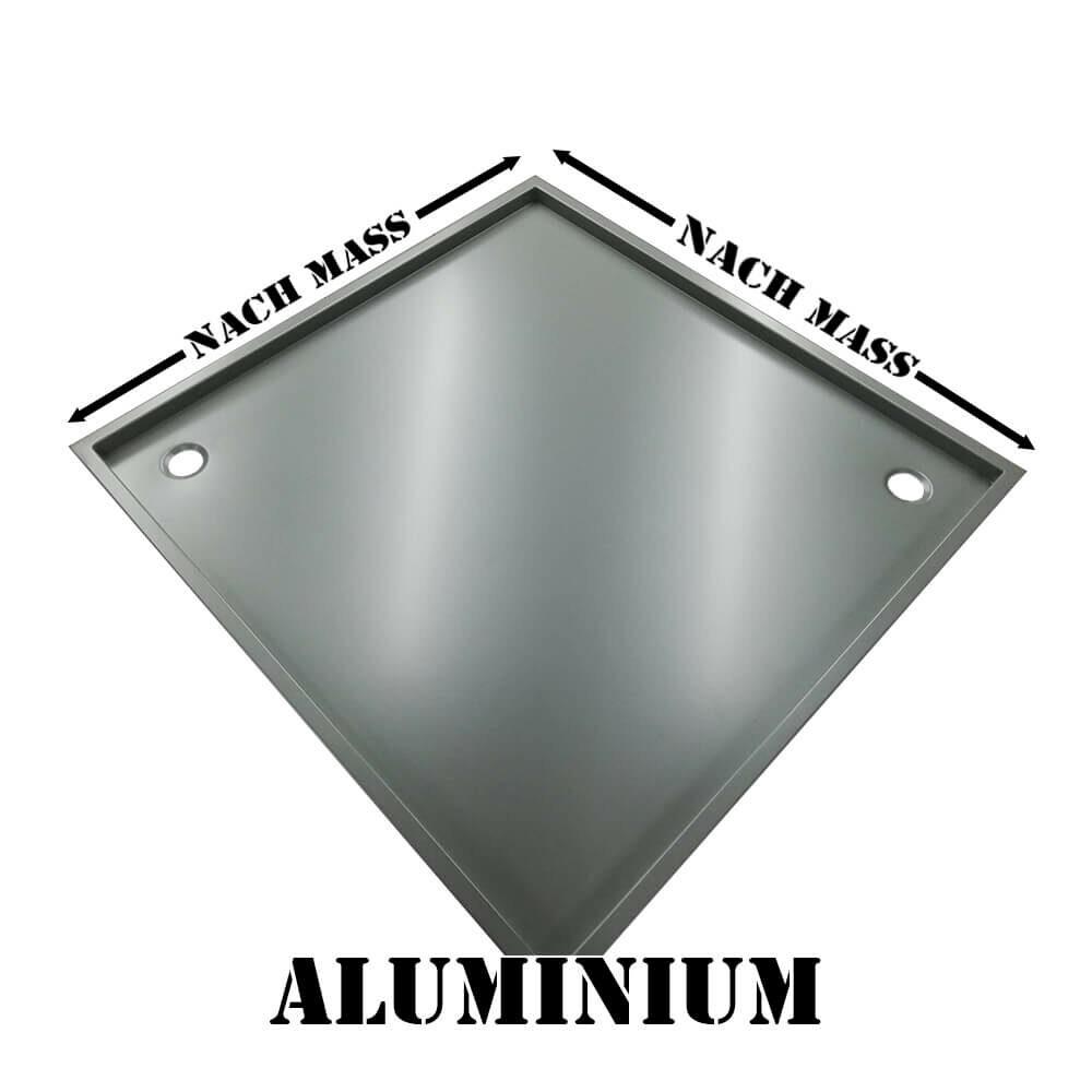 Aluminium Duschwanne nach Mass