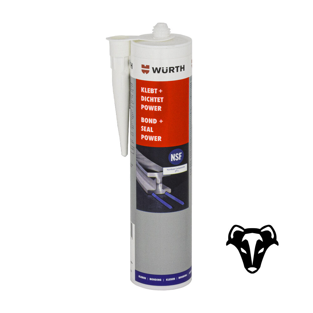 Würth Konstruktionsklebstoff Klebt + Dichtet Power 300ml