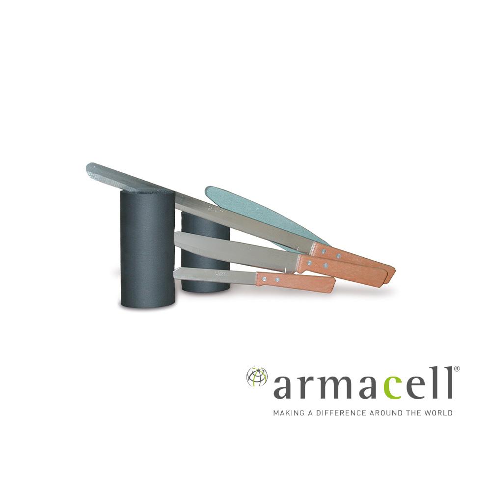armacell ArmaFlex AF Messer Set inklusive Schleifstein zur Dämmstoff-Verarbeitung