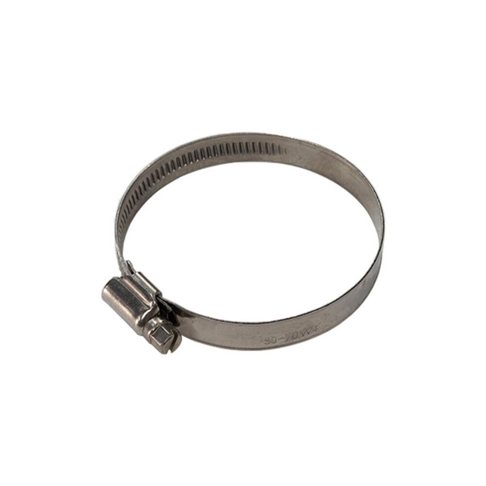 Schlauchschelle  12mm Bandbreite 50 – 70mm Spannbreite V2A Edelstahl