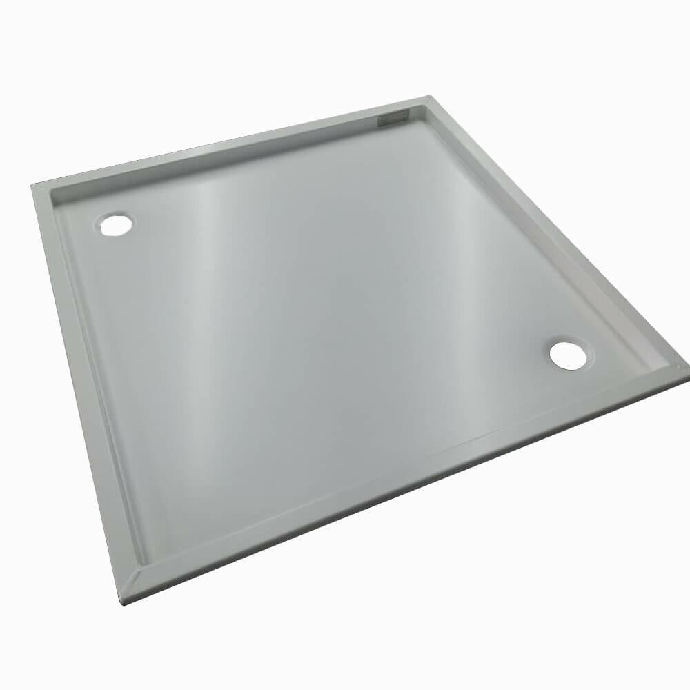Duschwanne Camper 60x60x5cm – Aluminium